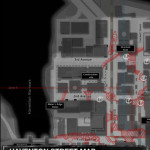 I Am Alive - iPhone application by Sekkei Studio - Map page