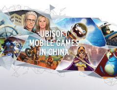 New ubisoft mobile chinese website by Sekkei Studio