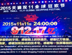 Tmall Global Shopping Festival 2015 achieved $11 billion!