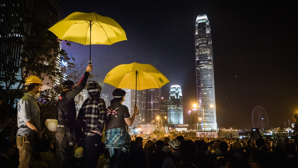 HK Umbrella Movement