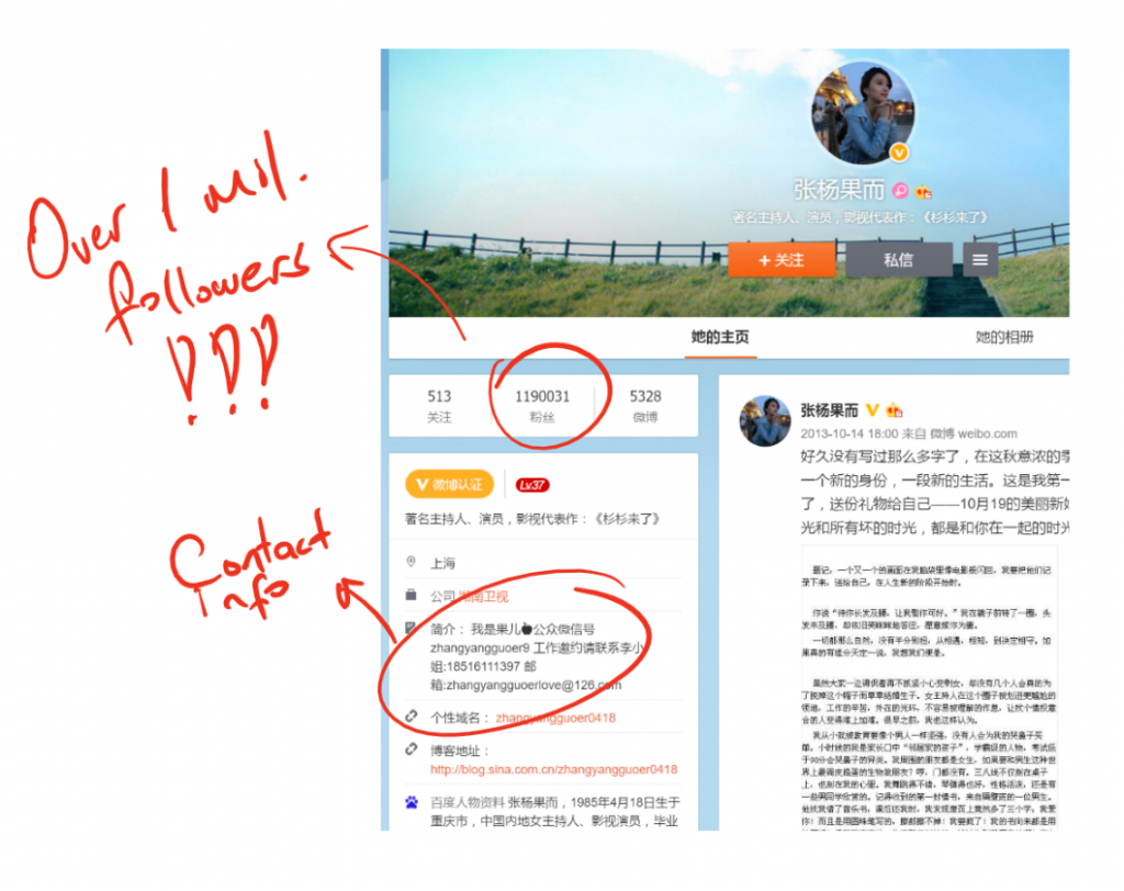 Weibo Search Screenshot