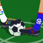 Google VS Baidu Football Edition