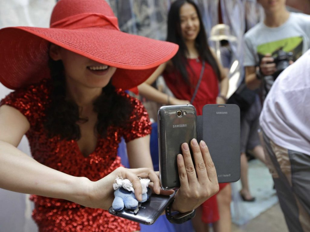 Smartphone users in China