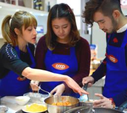 O2O Cooking Class Campaign
