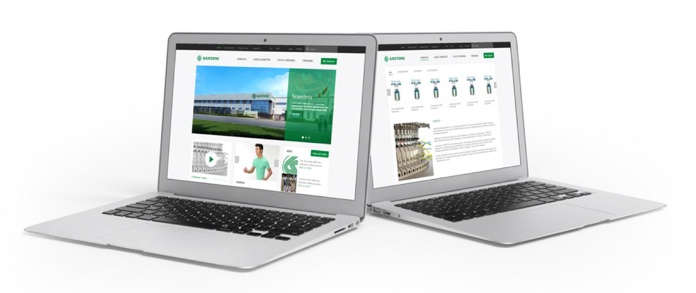 Modernizing Santoni's Web Design